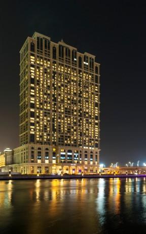 wes3818ex-212133-The Westin Dubai Al Habtoor City exterior - Dubai Water